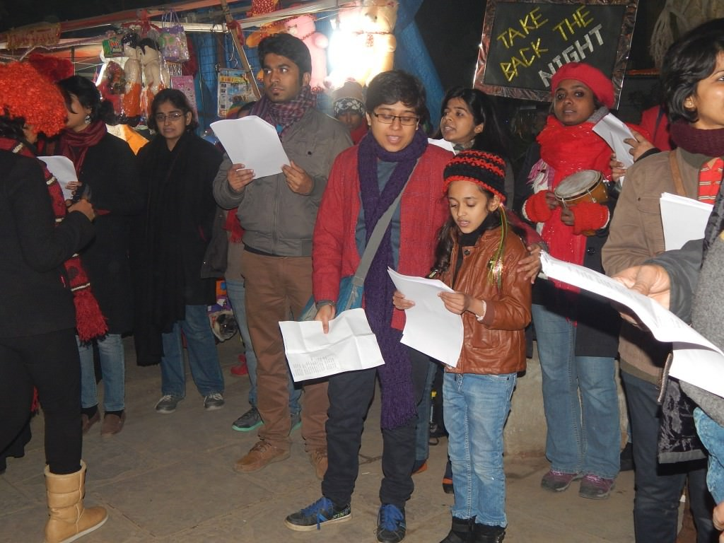 Ringing in 2015 supporting women's safety & security, loitering & matargashti!