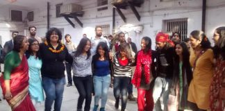 V-Day In Photos: From Protest To Sangeet & Mehendi Inside The Police Station