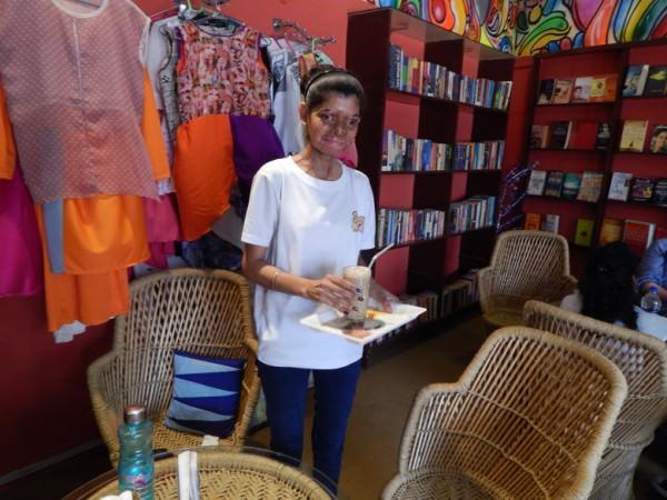 Ritu at Sheroes Hangout.