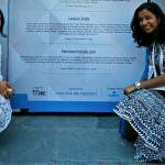 Our team - Japleen Pasricha and Adishi Gupta - at the SM4E award summit and gala.