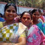 Young Pourakarmikas who smiled as I clicked their picture