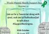 Tweet-chat On World Mental Health Day 2016 #SupportNotStigma
