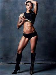 A photo of the built fitness model Bani
