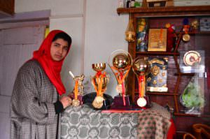 Iqra Rasool With Her Trophies