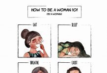 Comic: How To Be A Woman 101
