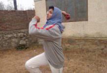 Iqra Rasool in action