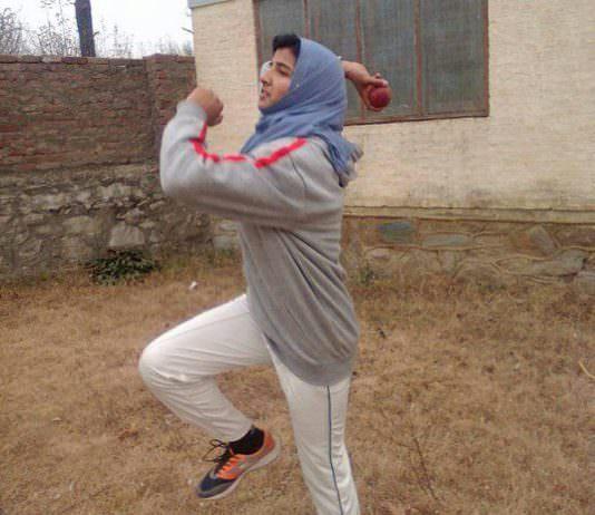 Iqra Rasool in action