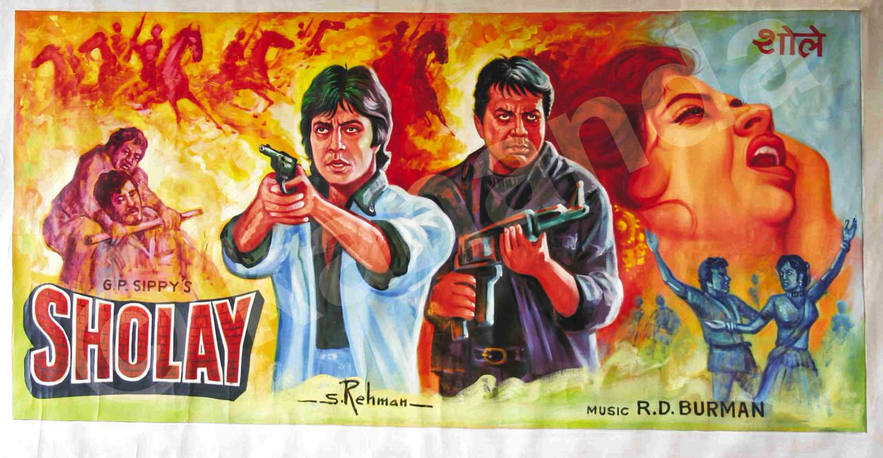 Image result for Sholay (1975)