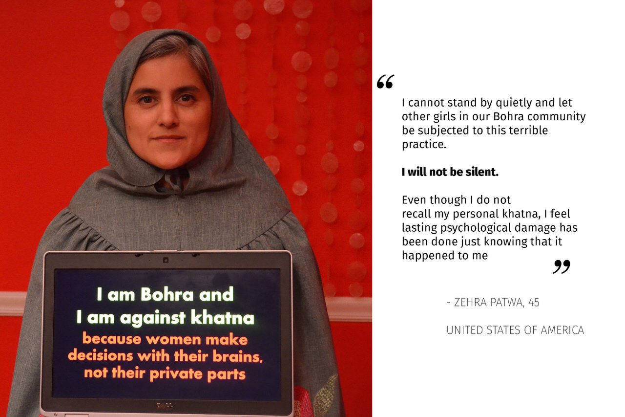A Bohra Woman Speaking Against FGC