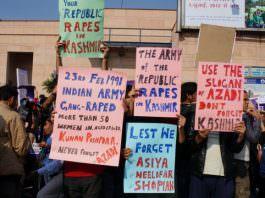 Protests About Kunan Poshpora Mass Rape