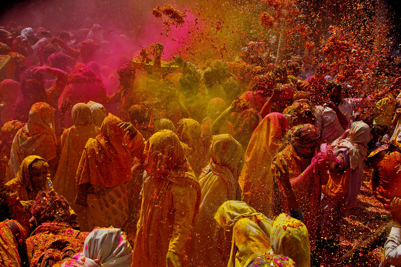 essay on colours of india
