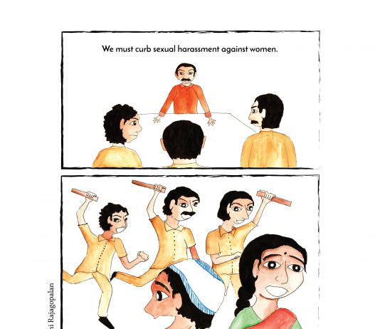 Comic: Anti-Romeo Squads For Women's Safety Or Love Jihad?