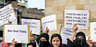 Women Protest Against AIMPLB and Triple Talaq