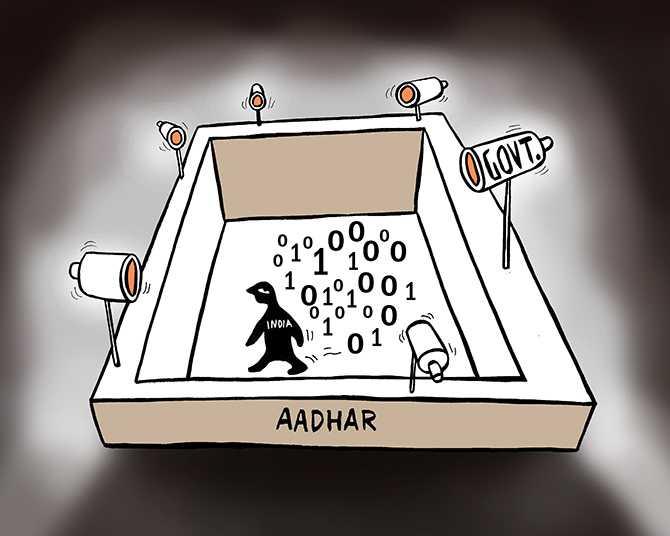 Image result for aadhaar cartoon