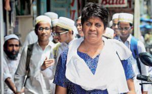 Bebaak Collective founder Hasina Khan. (Image Credit: India Today)