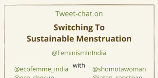 Tweetchat on Sustainable Menstruation