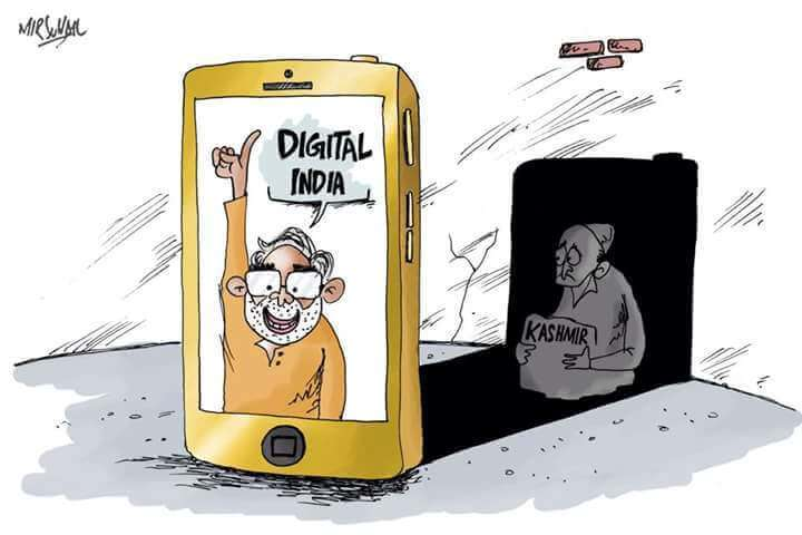 The New Normal Of Living With No Internet In Kashmir