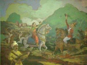 Killing of St. Thackeray at Kittur