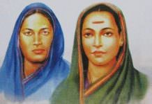 Fatima Sheikh and Savitribai Phle.