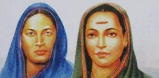 Fatima Sheikh and Savitribai Phle.