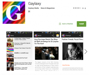 Gaylaxy App by Gaylaxy Magazine