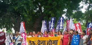 Women's Groups Protest For 33% Reservation In The Parliament