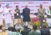 Manel At Lokmat Parliamentary Awards