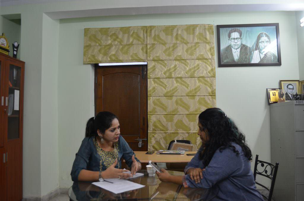 FII's Mahika talking to Anju Singh of AIDMAM