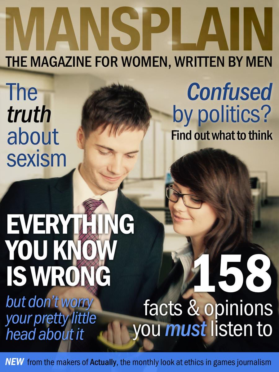 'Sir, What Gave You The Authority?': On Men Mansplaining Things To Women
