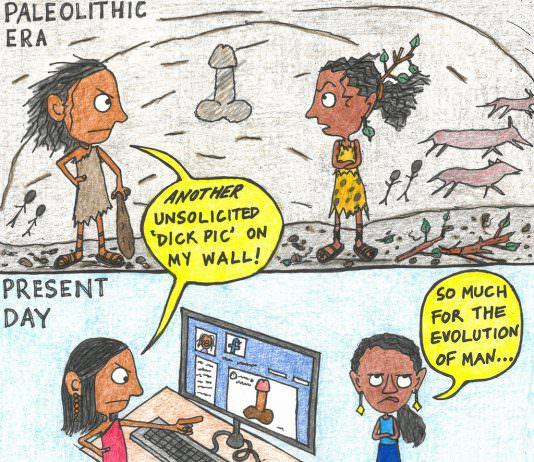 Comic: Another Dick Pic On My Wall | #DigitalHifazat