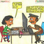 Comic: When Women Report Online Violence | #DigitalHifazat