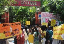 All Hindu College Cares About Is Their Bhai's Election | #MakeMyCampusSafe