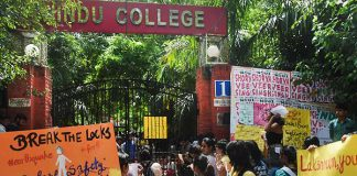 All Hindu College Cares About Is Their Bhai's Election   #MakeMyCampusSafe