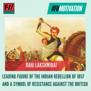 #FIIMotivation: Today marks the 160th death anniversary of this valiant freedom fighter.