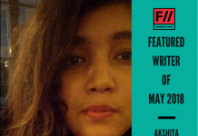 Meet Akshita Prasad – FII's Featured Writer Of May 2018