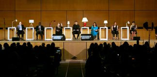 FII Founder Japleen Pasricha Reads SEVEN The Play In Geneva