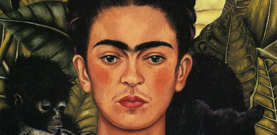 Self-Portrait with Hummingbird – Frida Kahlo