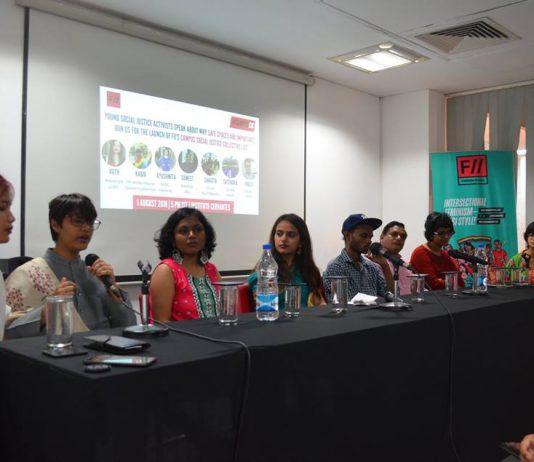 Launch Of #CampusSJC List: Young Activists Speak Out
