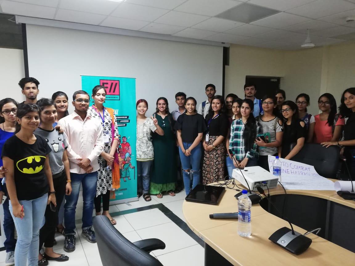 FII Conducts Workshop On Combatting Online Harassment At DDUC, Delhi Universtity | #DigitalHifazat