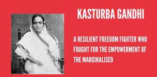 Kasturba Gandhi: The Lesser Known Freedom Fighter | #IndianWomenInHistory