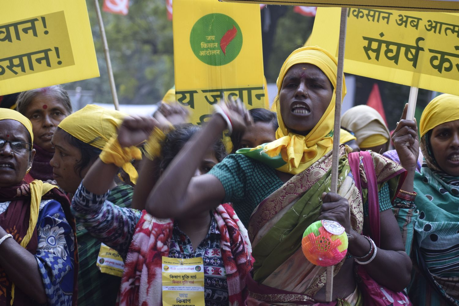 When Will Our 'Achche Din' Arrive, Ask Aggrieved Farmers At Kisan Mukti March