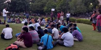 IIT Madras Students Protest Against Anand Teltumbde's Imminent Arrest