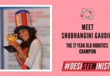 Meet Shubhanshi Gaudani: The Robotics Champion| #DesiSTEMinist