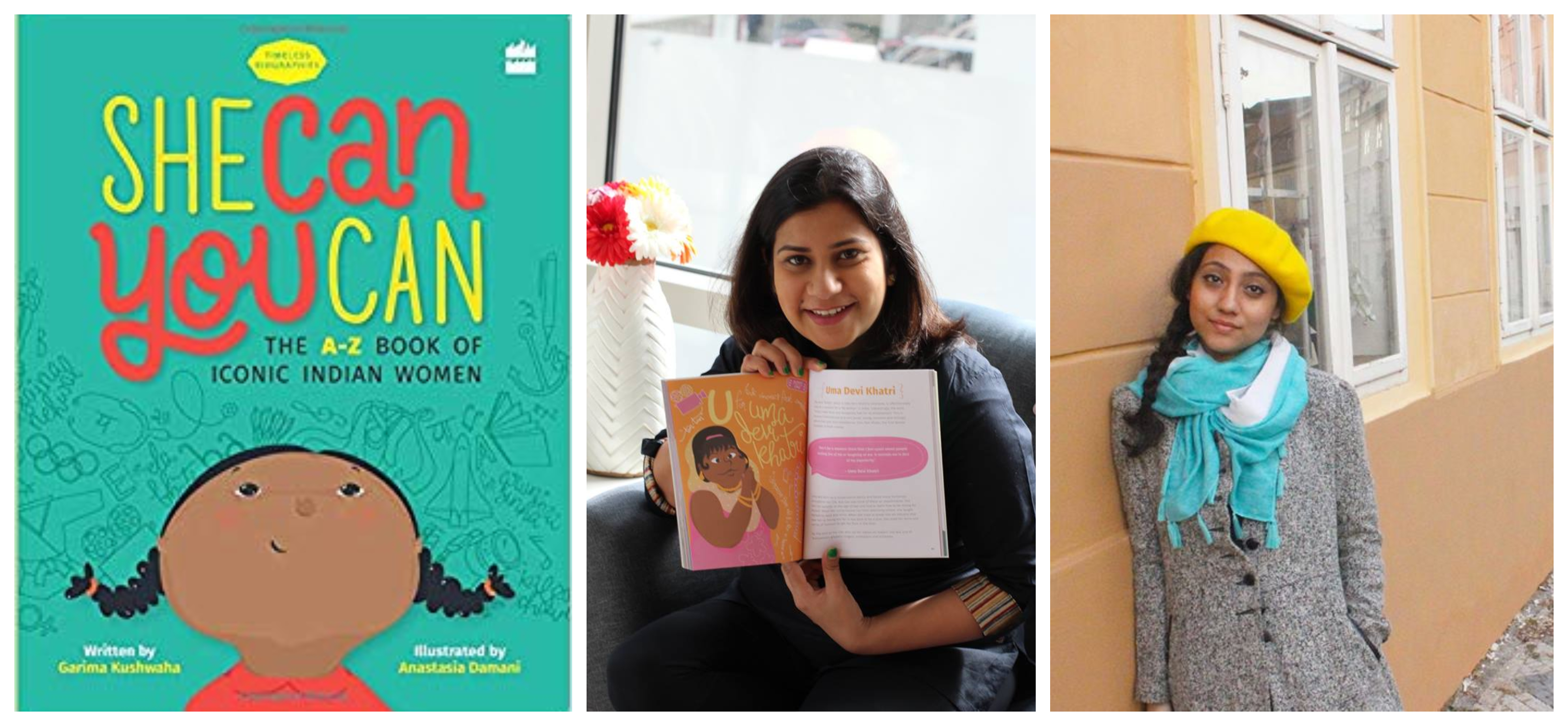 Book Review: 'She Can You Can' By Garima Kushwaha And Anastasia Damani