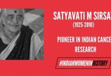 Satyavati M Sirsat: Pioneer In Indian Cancer Research | #IndianWomenInHistory