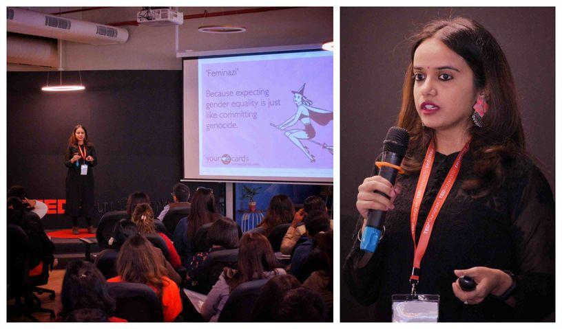 FII Founder Japleen Pasricha Gave A TEDx Talk On Feminism 101