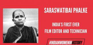 Saraswatibai Phalke: India's First Film Technician And Editor| #IndianWomenInHistory