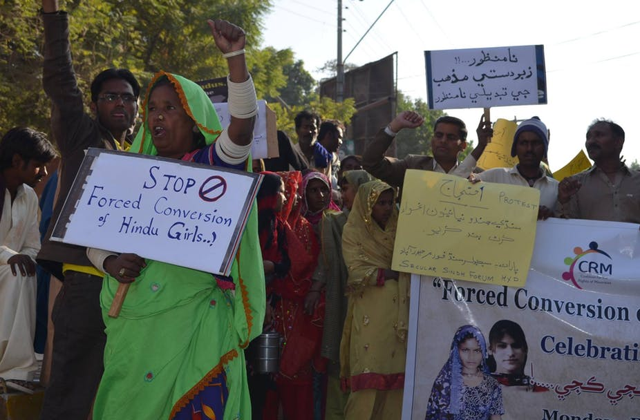 Minorities Continue To Suffocate: Forceful Conversions Of Hindu Women In Pakistan
