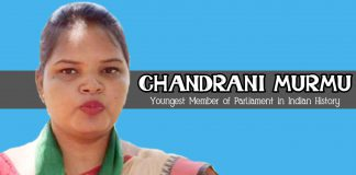 Chandrani Murmu BJD Odisha Youngest MP Woman Tribal ST 2019
