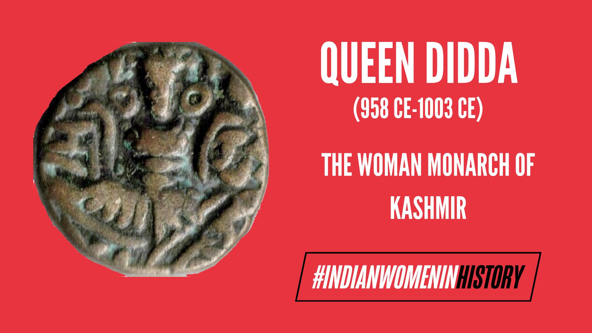 Queen Didda: The Woman Monarch Of Kashmir   #IndianWomenInHistory